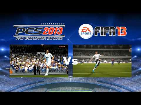 [FOOT] C'est parti pour FIFA 13 et PES 2013