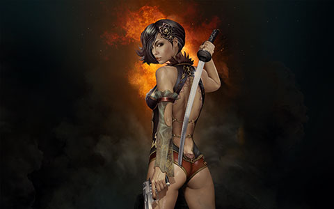 [TEST] Gunblade Saga sur PC