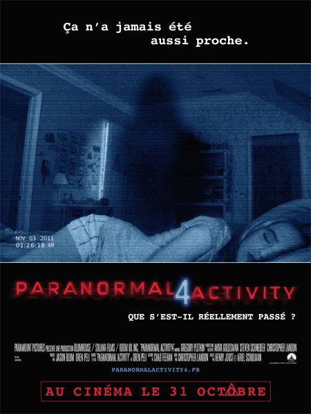 [CONCOURS] Paranormal Activity 4 vous fait gagner de nombreux lots !