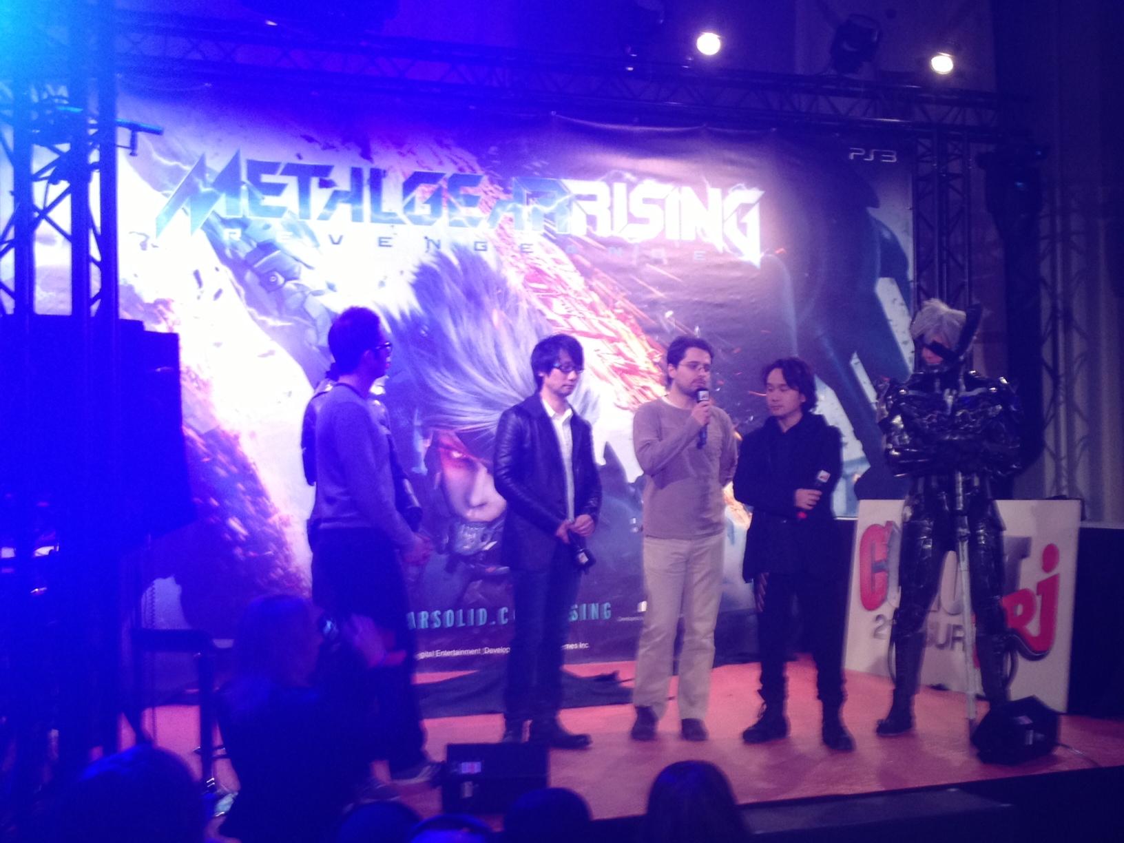 [COMPTE-RENDU] Soiree de lancement Metal Gear Rising