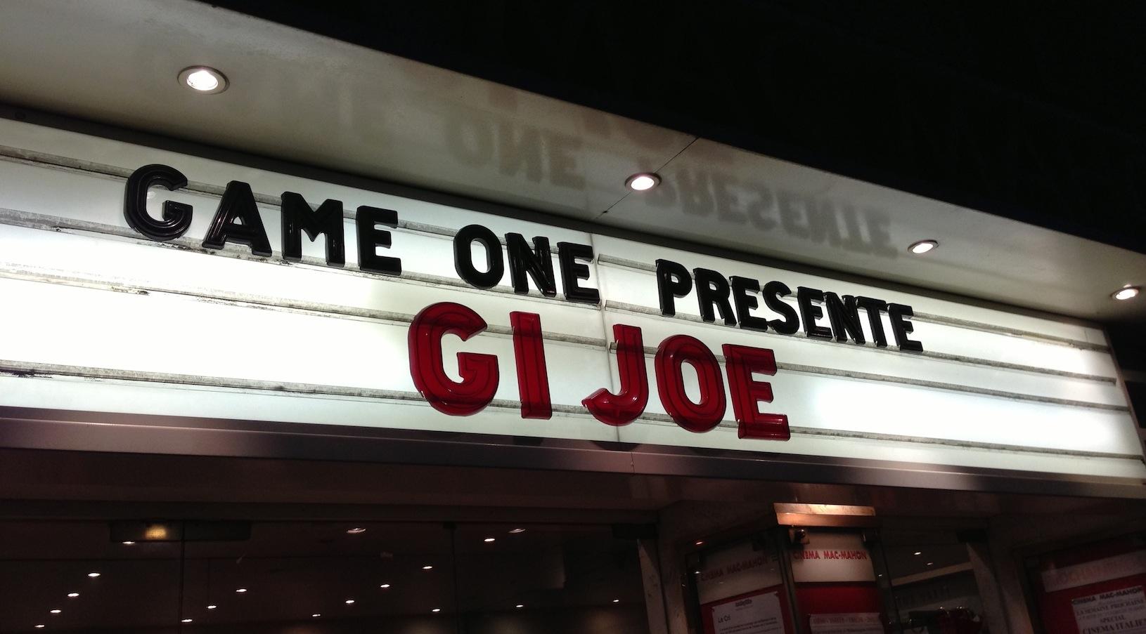 [COMPTE-RENDU] G.I. Joe : Conspiration
