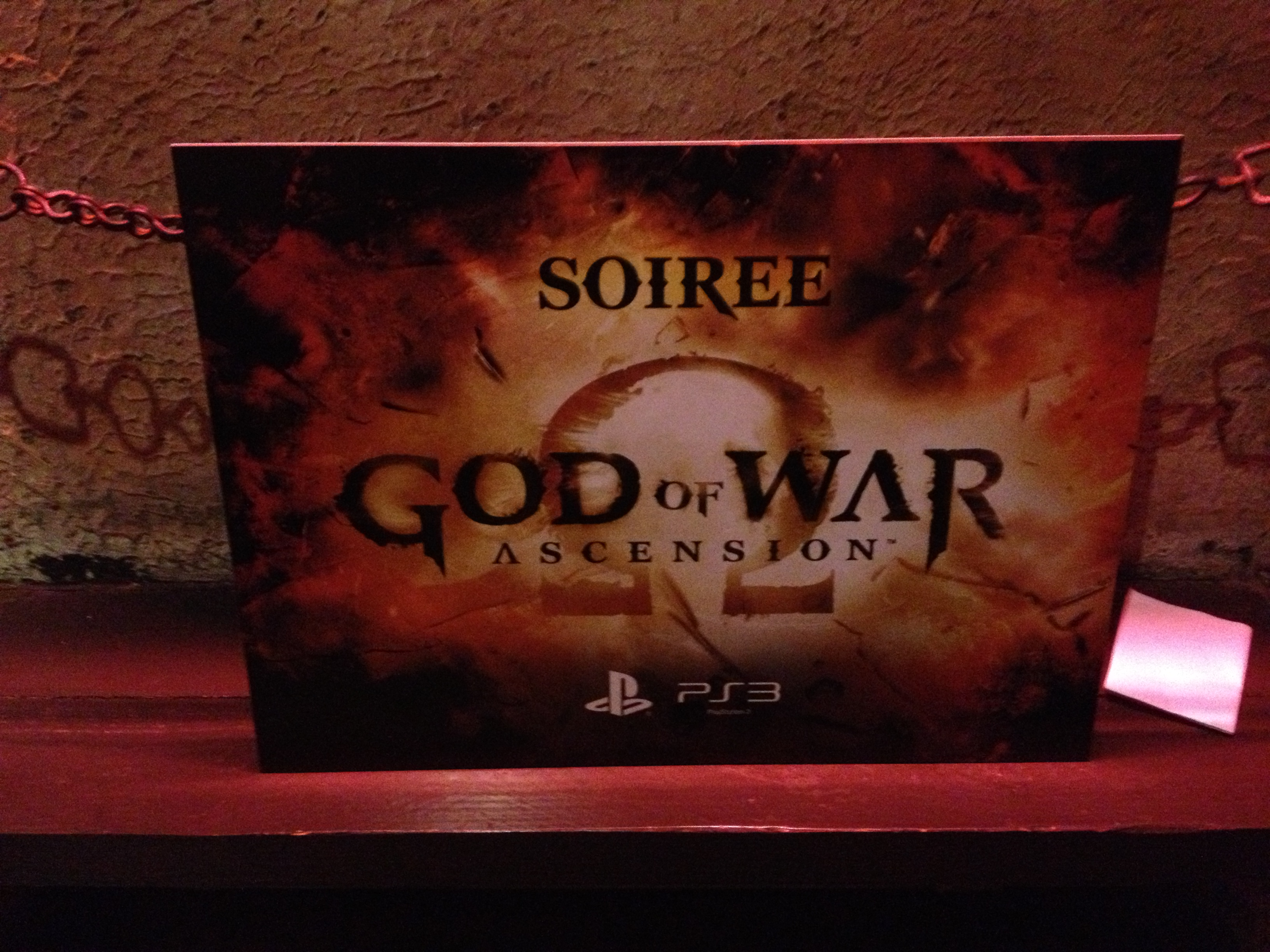 [COMPTE-RENDU] Soiree de lancement God of War : Ascension