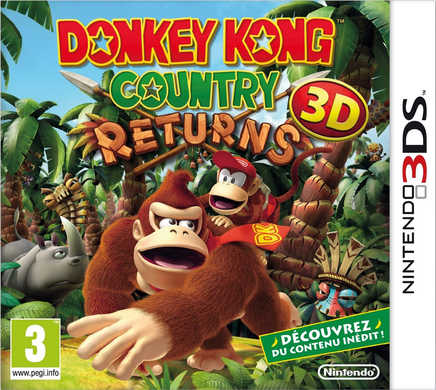[TEST] Donkey Kong Country Returns 3D sur 3DS