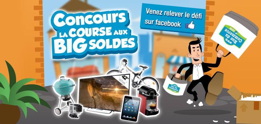 [CONCOURS] Faites la course aux Big Soldes avec RueDuCommerce