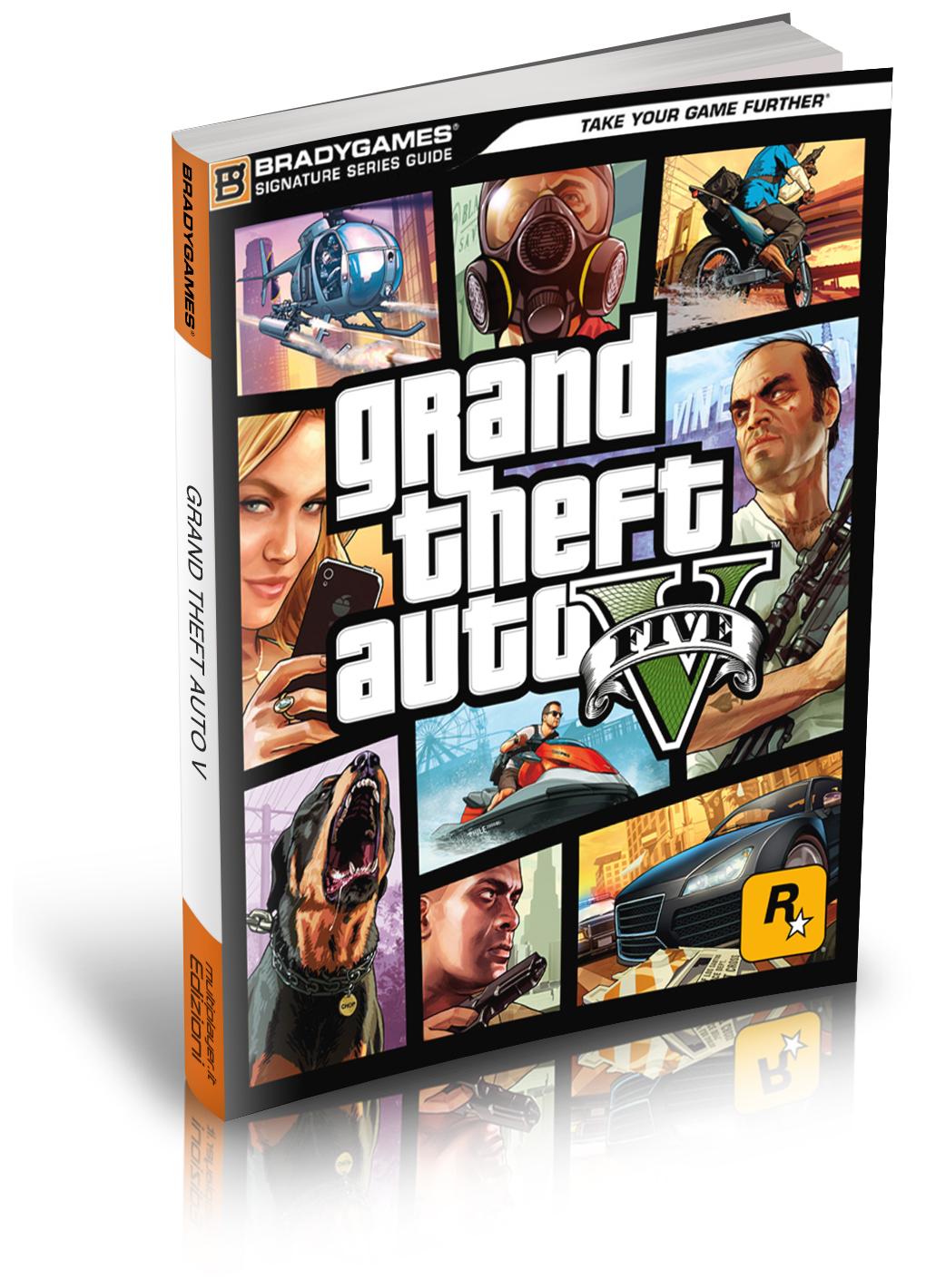 [PRECOMMANDE] Guide strategique de GTA V