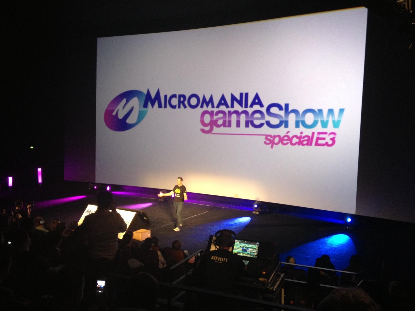 [COMPTE-RENDU] Micromania Games Show – Special E3 2013