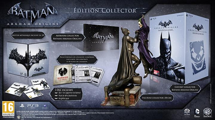 [ANNONCE] Presentation de l'edition collector de Batman : Arkham Origins