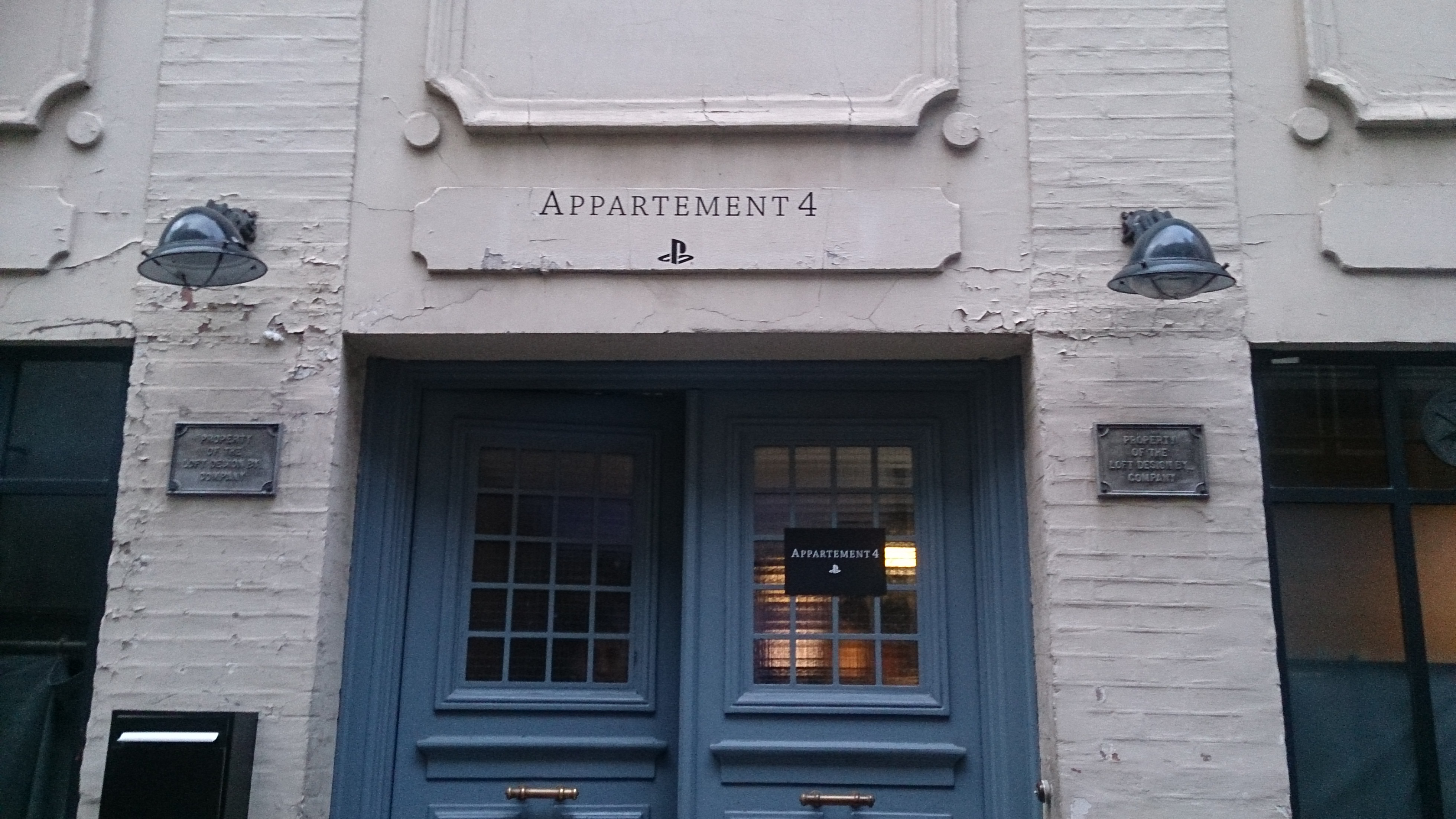 [COMPTE-RENDU] L'appartement PS4