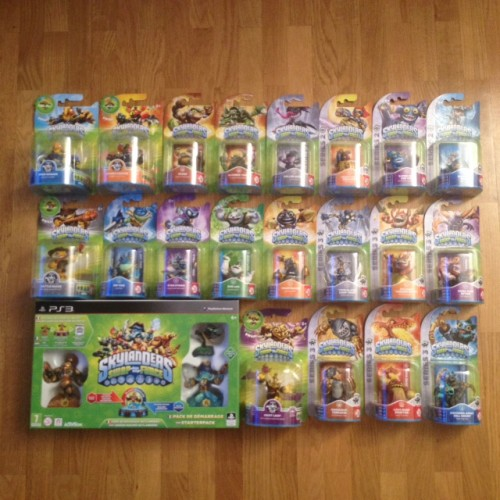 Arrivage skylanders swap force et son lot de figurines ps4 psvita ps3 - Jeu de skylanders swap force gratuit ...
