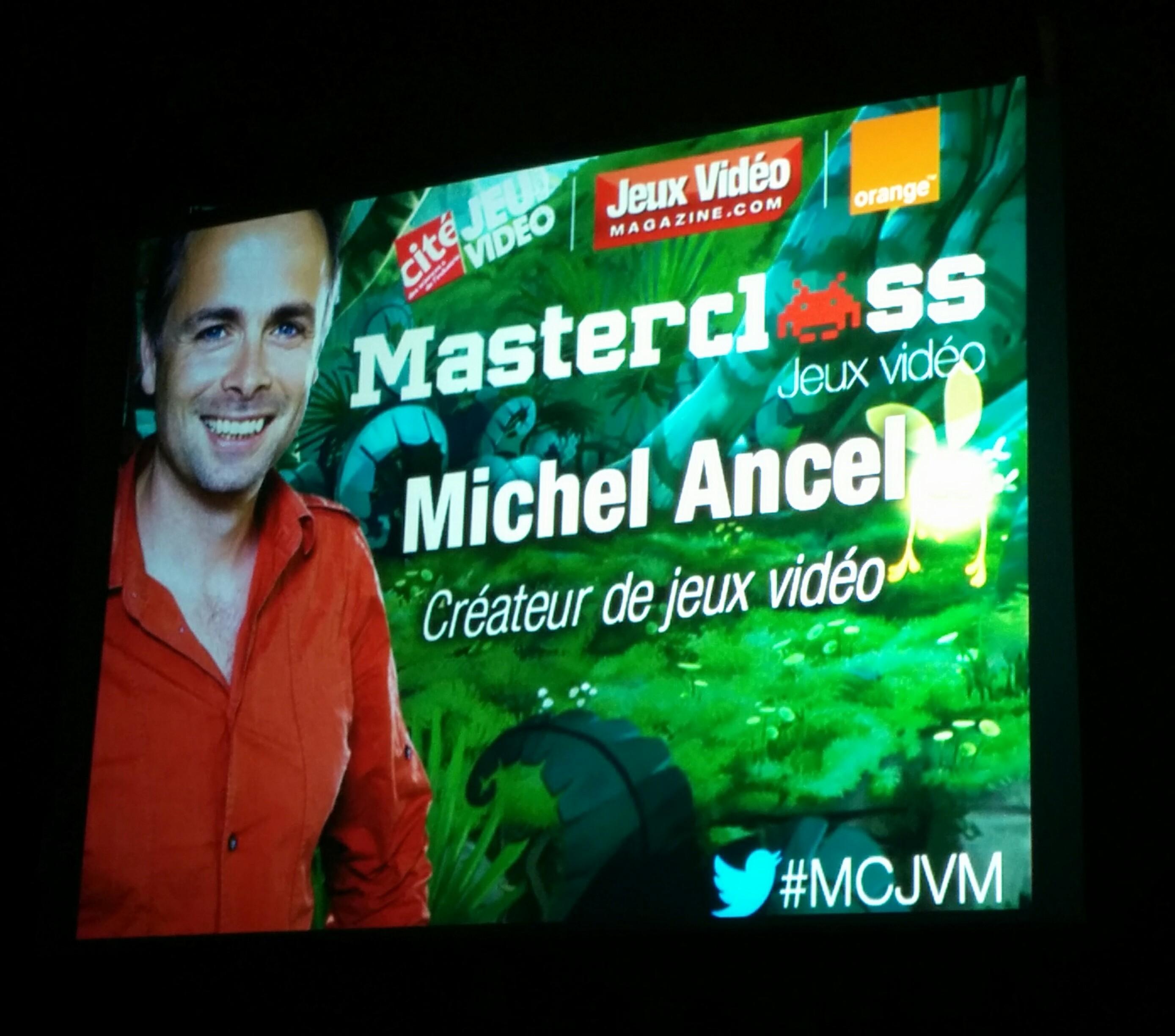 [COMPTE-RENDU] MasterClass avec Michel Ancel