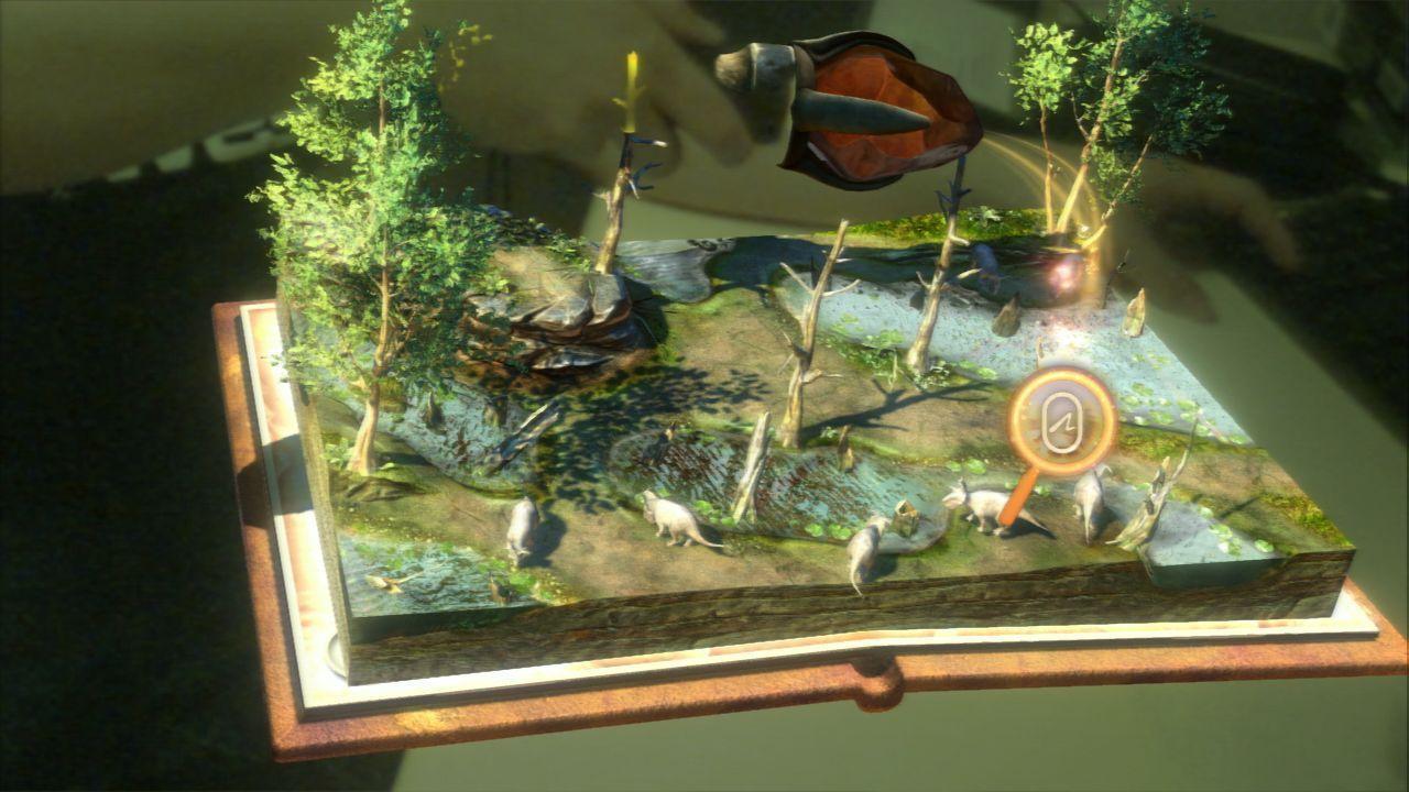[TEST] Wonderbook : Sur la terre des Dinosaures sur PS3
