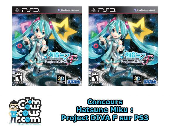 [CONCOURS] Gagnez Hatsune Miku: Project DIVA F sur PS3