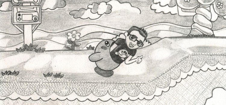 [ILLUSTRATION] Swallows me Kirby !