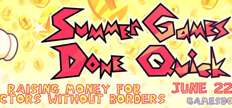 [EVENT] Summer Games Done Quick 2014