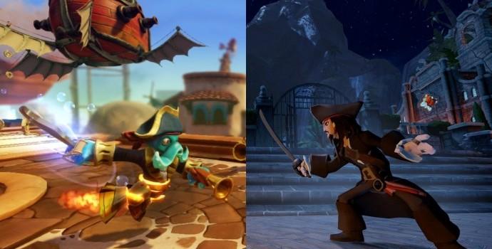 [ANNONCE] Guerre des figurines entre Skylanders et Disney Infinity