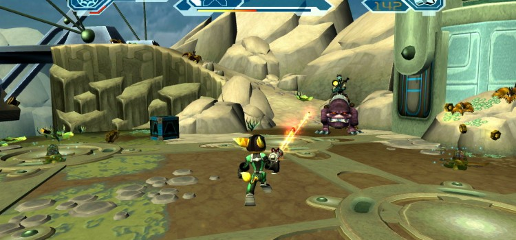 [TEST] The Ratchet & Clank Trilogy sur PS Vita