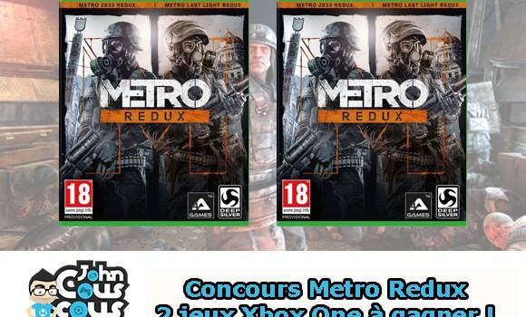 [CONCOURS] Gagnez Metro Redux sur Xbox One !