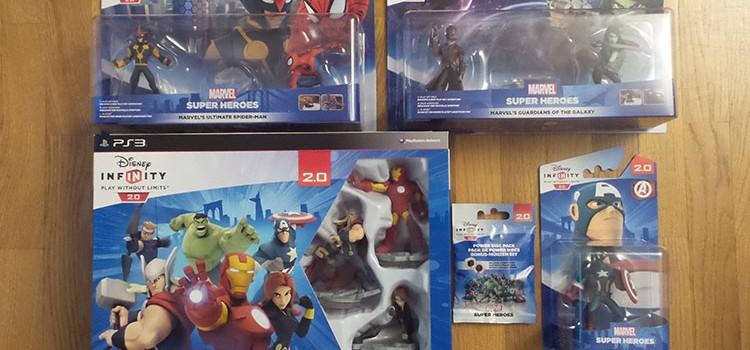 [ARRIVAGE] Disney Infinity 2.0 et ses packs aventures