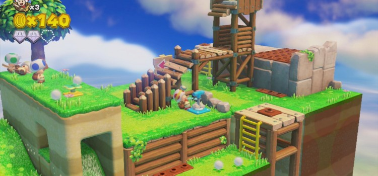 [TEST] Captain Toad Treasure Tracker sur Wii U