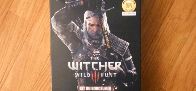 [ARRIVAGE] The Witcher III : Kit du Sorceleur