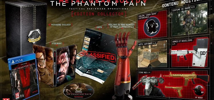[PRECOMMANDE] Metal Gear Solid V : The Phantom Pain – édition collector
