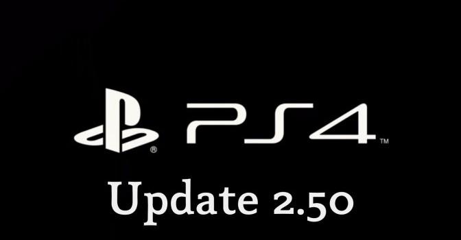 [PS4] MAJ Firmware 2.5
