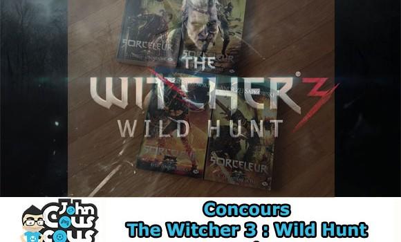 [CONCOURS] Gagnez des romans The Witcher 3 : Wild Hunt