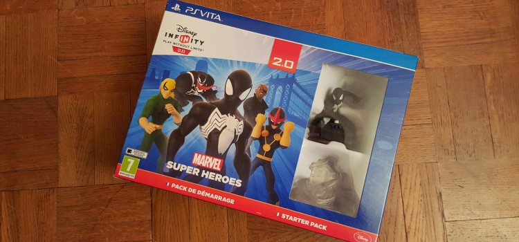 [UNBOXING] Disney Infinity 2.0 sur PS Vita