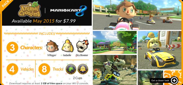 [SORTIE] Le 2ème DLC pour Mario Kart 8