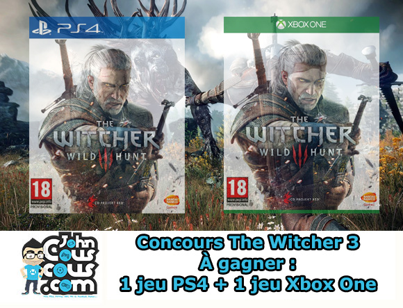 ConcoursTheWitcher3-PS4One