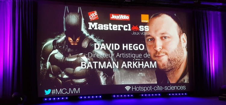 Master Class avec David Hego, directeur artistique de Batman Arkham