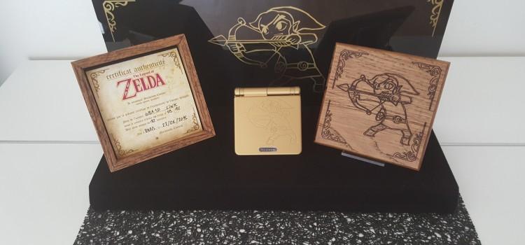 [ARRIVAGE] GBA SP custom – The Legend of Zelda
