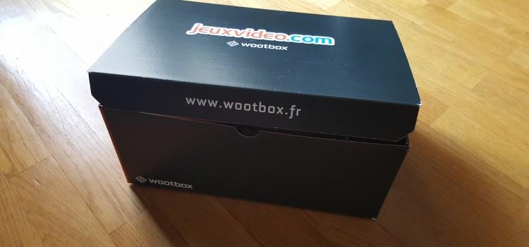 [UNBOXING] Wootbox Juillet 2015 de JeuxVideo.com