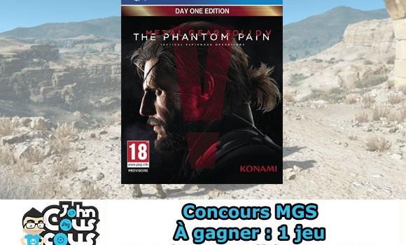 [CONCOURS] Gagnez Metal Gear Solid V : The Phantom Pain sur PS4