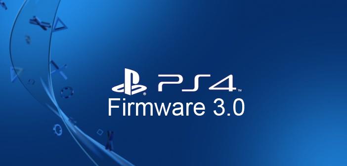 [PS4] Mise à jour Firmware 3.0
