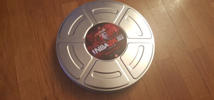 [UNBOXING] Press Kit de NBA2K16