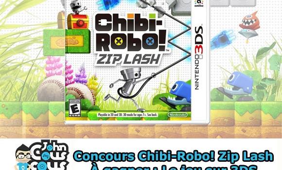 [CONCOURS] Gagnez Chibi-Robo! Zip Lash sur 3DS