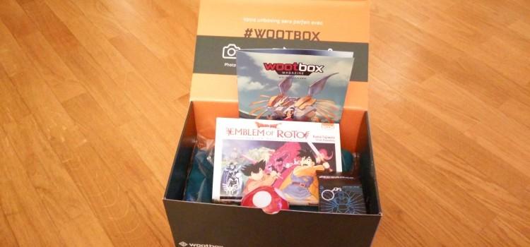 [UNBOXING] Wootbox Novembre 2015 de JeuxVideo.com