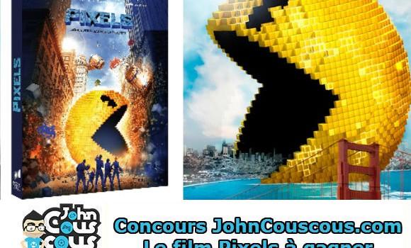 [CONCOURS] Gagnez le film Pixels en Blu-Ray et DVD