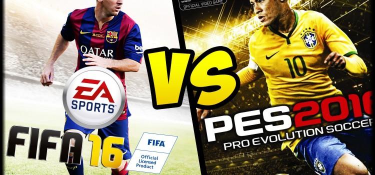 [TEST] FIFA 16 versus PES 2016