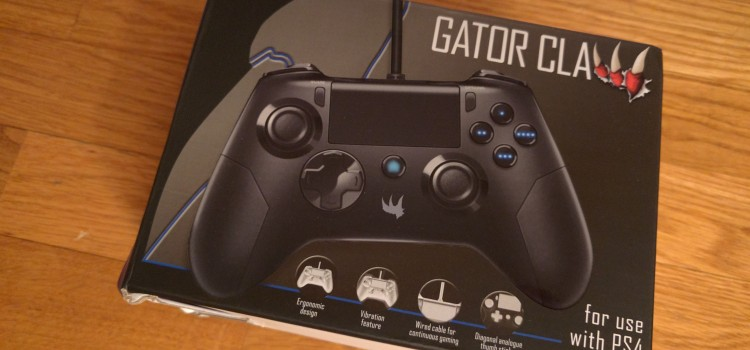 [TEST] Manette PS4 Gator Claw de Subsonic