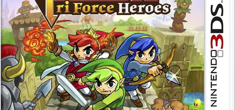 [TEST] Zelda Tri Force Heroes sur 3DS