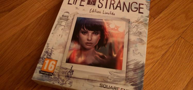 [UNBOXING] Life is Strange – édition limitée