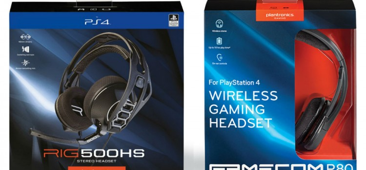 [TEST] Casques gaming : Plantronics RIG 500HS et GameCom P80