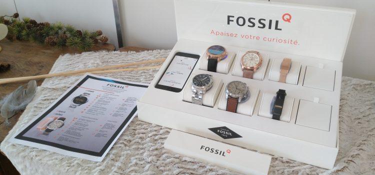 [COMPTE-RENDU] Découverte des montres connectées Fossil