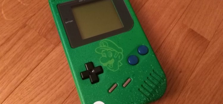 [ARRIVAGE] Game Boy custom – Luigi