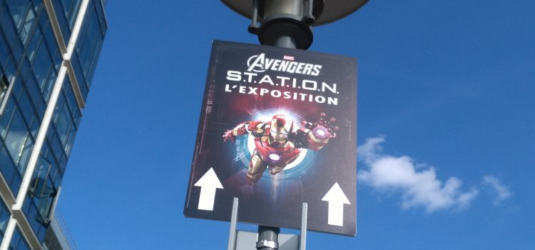 [COMPTE-RENDU] Exposition Marvel's Avengers S.T.A.T.I.O.N.