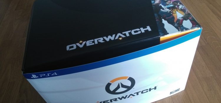 [UNBOXING] Overwatch, le coffret collector sur PS4