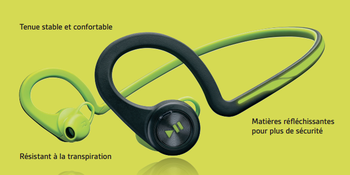 [TEST] Casque bluetooth Plantronics BackBeat Fit