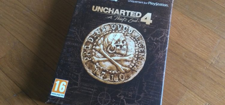 [UNBOXING] Uncharted 4: A Thief's End – édition spéciale sur PS4